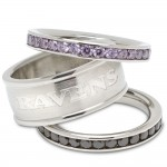 Baltimore Ravens Stacklable Rings