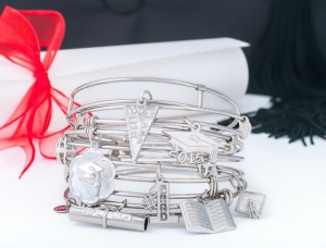 Rembrandt Graduation Charms and Bracelets