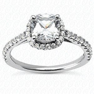 Engagement Ring Halo